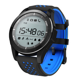 wristwatch for swimming UK - Altitude Meter Sports Smart Watch Bluetooth IP68 Waterproof Swimming Smart Bracelet Pedometer Outdoor Smart Wristwatch for Android IOS Phone