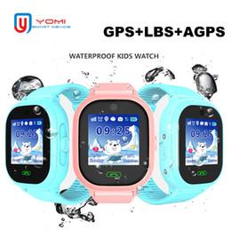 waterproof wifi watch 2019 - Child Smart Watch TD05 IP67 Waterproof GPS WIFI LBS Tracker Touch Screen SOS Call Voice Chat Wearable Anti-lost Finder f