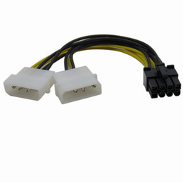 $enCountryForm.capitalKeyWord NZ - New 4pin IDE to 8 Pin PCI-E Power Lead Cable for Asus MSI VGA Video Graphic Card