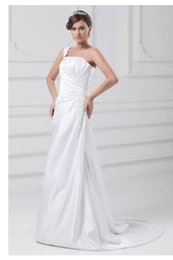$enCountryForm.capitalKeyWord Australia - Trumpet mermaid Wedding Dresses Sweetheart with Fabulous Floor-length Chapel Flowers Pleats