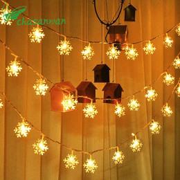 $enCountryForm.capitalKeyWord NZ - 1.5 M 10 Lamp Strip Battery Box Snowflake Led Christmas Decorations for Home Xmas Ornaments Christmas Tree Decorations Natal,Q