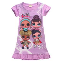 1ef551b0434a 2018 verano nuevo vestido largo de Europa y América puro algodón encantador  niñas rosa rojo y púrpura