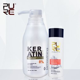 $enCountryForm.capitalKeyWord NZ - PURC Brazilian keratin 5%8%12% formalin 300ml keratin hair treatment and one piece 100ml purifying shampoo hot sale hair treatment