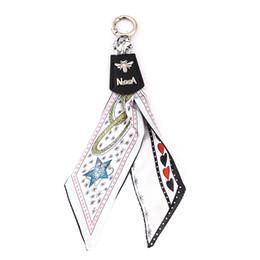 $enCountryForm.capitalKeyWord NZ - pronuvel Fashion Scarves Key holder Knot Exquisite Decoration Cloth Tassels Keychains Women Bag Charm Pendant CH-3525