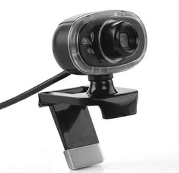 China NEW 360 Degree Rotation USB Webcam 12M Pixel HD Web Camera Clip-on Sound Absorbing with Microphone MIC For Android TV PC Computer suppliers