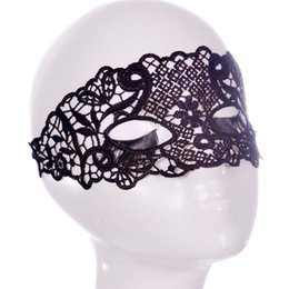 $enCountryForm.capitalKeyWord UK - 1PCS Party Masks Female Fancy Dress Costume Masque Eye Mask Women Sexy Lace Venetian Mask For Masquerade Ball Halloween Cosplay