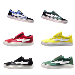 Discount Old Skateboards 20 Colors Top Revenge X Storm Skool Designer Cavnas Sneakers Womens Men