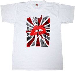 $enCountryForm.capitalKeyWord UK - URBAN CITY KISS T-SHIRT 100% COTTON LIPSTICK KISSES MANHATTAN NEW YORK TEE SHIRT colour jurney Print t shirt