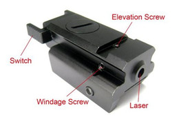 Chinese  New Red Dot Laser sight Tactical 20mm picatinny Weaver rail Mount fit for Pistol Gun Compact manufacturers