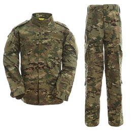 China USMC BDU Inspired Tactical Hunting Combat Gear Training Uniform Ghillie Suits sets Shirt + Pants cheap combat bdu uniform suppliers