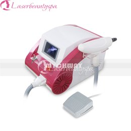 Wholesale Professional W Q Switch ND Yag Tattoo Removal Machine nm nm nm Eyebrow Lipline Removel Beauty Machine
