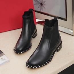 cowboy tops 2019 - Latest Brand Fashion Designer Women Martin Boots Superstar Thick Heel Boots Luxury Women Shoes Designer Loafers Winter B