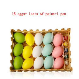 Easter eggs wholesale australia new featured easter eggs wholesale easter decoration for kids children diy painting egg hanging easter egg easter diy colored eggs hand painted egg toys kka4456 negle Image collections
