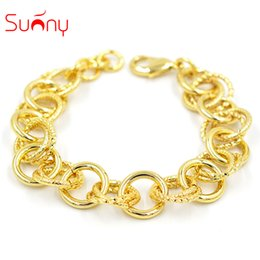 $enCountryForm.capitalKeyWord Australia - Sunny Jewelry Bracelets Bangles Link Chain Charms High Quality Fashion Jewelry 2018 For Women For Party Wedding Daily Wear Gift