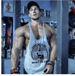 $enCountryForm.capitalKeyWord NZ - Brand Bodybuilding Stringer Tank Tops Mens Sportwear Vest Fitness Men golds gyms Clothing sleeveless t shirts Muscle singlets