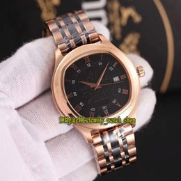 butterfly polo Australia - High Quality Luxury POLO G0A43010 Rose Gold Date Case 2824 Automatic Double-sided Sapphire mirror Mens Watch 316L Steel Strap Watches 05