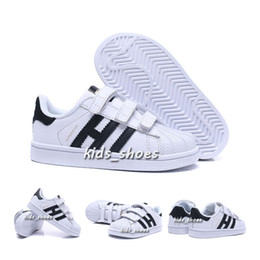 classic fit 427b9 f7187 Girls casual shoes online shopping - Kids baby superstar shoe For children  boy girl Casual Shoes
