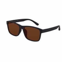 Discount green tint sunglasses - 1x Tinted Polarized Oversize Myopia Glasses Mens Womens Black Frame Green or Brown Lens -0.5 to -6.0 Shortsighted Sungla