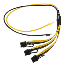 Power suPPly internal online shopping - 70CM PCI Express Graphics Card Connector PC Power Supply Cable CPU Molex pin PCI e pin Internal Cable Power Splitter AWG AWG