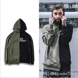$enCountryForm.capitalKeyWord NZ - European and American high street hip-hop men and women hoodie tide brand splicing hooded hedging loose lovers sweater retro casual jacket