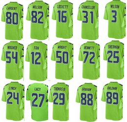 df50a060b73 low price seahawk seattle 3 russell wilson 54 bobby wagner 12 fan 89 doug  baldwin 29