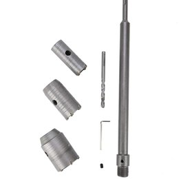 $enCountryForm.capitalKeyWord Australia - 30 40 50mm SDS Plus Shank Carbide Tip Hole Saw Drill Bit + Shaft Cutter Wall Drill Brick Stone Concrete Cement with Wrench