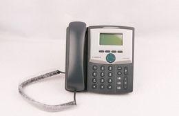 New Home Office et Business Téléphone IP Voix 1 ligne SPA921 avec écran Téléphone de bureau IP SIP SPA921 AVEC ALIMENTATION DE STAND DE COMBINÉ