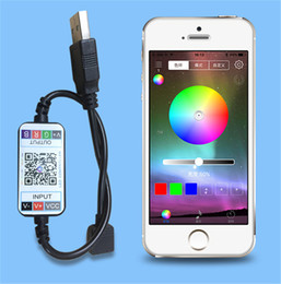 $enCountryForm.capitalKeyWord Australia - Mini LED RGB Bluetooth Controller For 5050 3528 LED Strip Light USB DC 5-24V Phone App Control Smart Dimmer