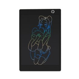 $enCountryForm.capitalKeyWord Australia - 9.7 Inch Colorful LCD Writing Tablet Drawing Board Portable Thin Handwriting Pad Paperless Graphic Tablets with Stylus Pen