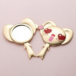 $enCountryForm.capitalKeyWord NZ - 2018 New Cardcaptor Sakura Cute Tiger Pet Cosmetic Mirror Cosplay Props Mini Handheld Mirror Makeup Tool Children Gift