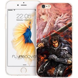 Fighting Australia - Fundas Berserk Guts Fight Clear Soft TPU Silicone Cases for iPhone 10 X 7 8 Plus 5S 5 SE 6 6S Plus 5C 4S 4 iPod Touch 6 5 Cover.