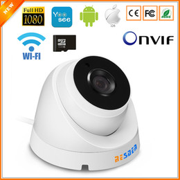 Wifi ip camera sd slot online shopping - BESDER ONVIF IP Camera Wifi P P P Optional ONVIF P2P Email Alert Yoosee Wireless Dome Camera With SD Card Slot Max G