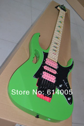 $enCountryForm.capitalKeyWord NZ - Free shipping High-quality New JEM 7V Electric Guitar, Black green pink yellow Green