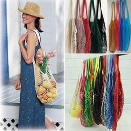 $enCountryForm.capitalKeyWord Canada - Reusable Shopping Bag Mesh Net Fruits Vegetable Portable Foldable String Turtle Handbag Bags Tote For Kitchen Sundries Organizer HH7-1204
