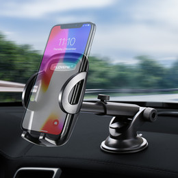 $enCountryForm.capitalKeyWord NZ - Dashboard Car Phone Holder For iPhone XS Max XR X Automatic Lock Stable Suction Rotary Cell Phone Car Holder Stand Windshield