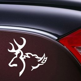 Venta al por mayor de Wholesale Vinyl Decals Car Stickers Glass Stickers Scratches Stickers Wall Die Cut Bumper Accessories Jdm DEER BOAR!