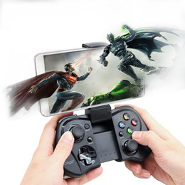 wireless gaming joystick for pc NZ - 100% Original 9052 Wireless Bluetooth Game Gaming Controller Joystick Gamepad only for Android MTK cell phone Tablet PC TV BOX