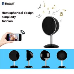 Motion Activated Camera Recorder Australia - New 1080P Bluetooth Speaker Wifi Camera Motion Activated Video Recorder Support APP Real-Time View Stereo Music Player Security Nanny Cam