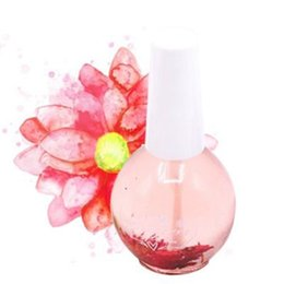 Chinese  15ml Cuticle Nutrition Replenishing Rose Lavender Lily Dried Flower Nail Oil manufacturers