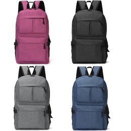 02fb08839fc Laptop back bags for men online shopping - USB Design Unisex Laptop Backpack  Book Bags for