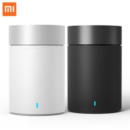 Portable Mini Speakers For Iphone NZ - Original Xiaomi Mi Speaker Cannon 2 Mini Smart Bluetooth 4.1 Portable Wireless Subwoofer Wifi Loudspeaker for Iphone Android MP3