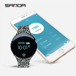 Ip65 Smart Watch NZ - SANDA Smart Watch Waterproof IP65 Pedometer Message Reminder Ultra-long Standby X-watch Outdoor Smartwatch For Android IOS sd02