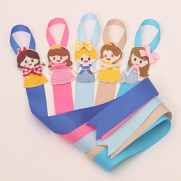 Hair Assorted Colors Australia - New Ribbon Rainbow Colors Toddlers Hair Clip Storage Tape Assorted Hairpins Holder Kids Hair Accessories Holding Band Headdres