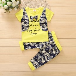 korean fashion baby boy clothes 2018 - Baby Boys Girls Clothes Summer New Fashion Korean Shorts 2pcs Suit Short Sleeved Baby Knitting Pure Cotton Summer Clothe