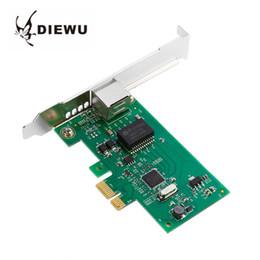 Intel Wireless Pci Australia - DIEWU DW-I82574 Chip Diskless PCI Express Gigabit Ethernet Network Card 10 100 1000Mbps PCI-E RJ45 LAN Adapter For Intel
