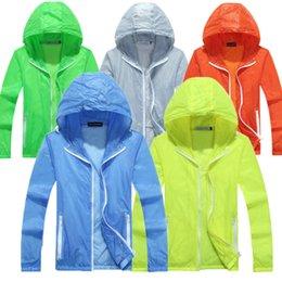 $enCountryForm.capitalKeyWord Australia - 3XL Super Thin Outdoor Rashgard Jacket Men Running Hoodies Rashgard Clothing Sport Coat Men Sportswear Coat Bodybuilding Hoodies