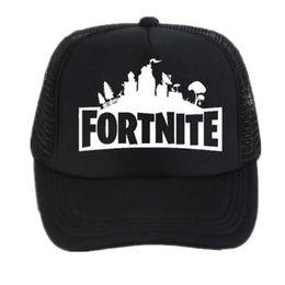 ee81bf0687f Fortnite New Hot Trucker Cap Hot Game Fortnite Fans Cool Mesh Caps Summer  Baseball Net Trucker Caps Hat For Men Women