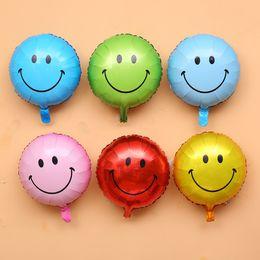 $enCountryForm.capitalKeyWord Australia - 18 inch cute expression balloons Emoji foil ballon for birthday party Emotions helium globos wedding decor air toys Drop Shipping