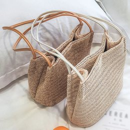 Large Housing Australia - Top SFG HOUSE 2018 Large Straw Bags Women Summer Rattan Bag Handmade Women Beach Cross Body Bag Bohemia Handbag Casual Totes Ladies Bags