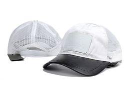 Discount branded baseball mesh caps - Hot Sales Adjustable Men Women Summer Mesh Cool Caps Fashion Mesh Sun Hats Brand Design Baseball Hat Snapback Hats Unise